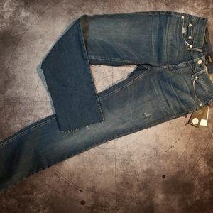 New Nydj sz 2 sheri slim ankle skinny parke jeans